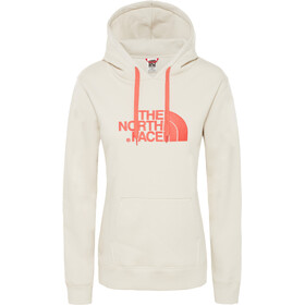 The North Face Drew Peak Midlayer Damer, vintage white/spicd coral